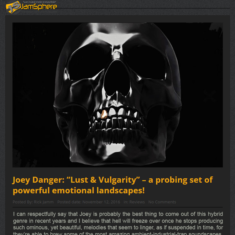 Joey Danger Official Website | EPK
